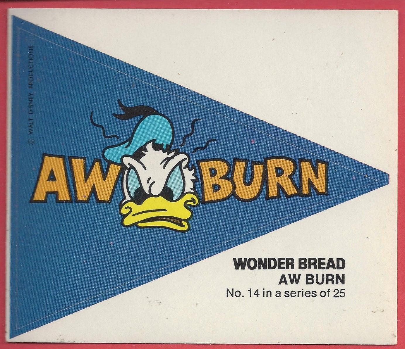 Porcelain Sign Wonder Bread