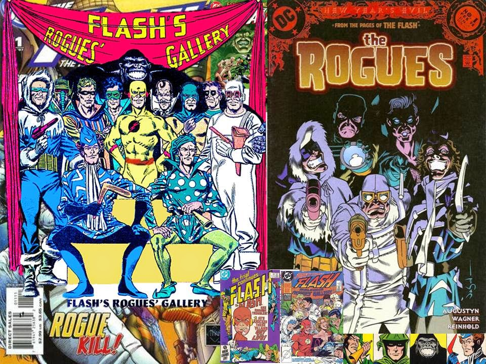 Dave U0026 39 S Comic Heroes Blog  Flash Facts Rogues
