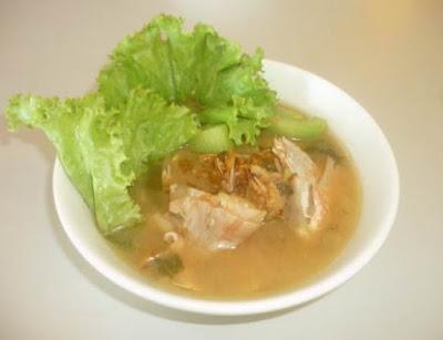 Resep membuat masakan sop ikan batam