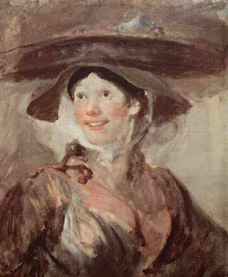 The Shrimp Girl by William Hogarth, 174o-45