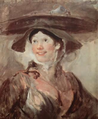 The Shrimp Girl by William Hogarth, 174o-45