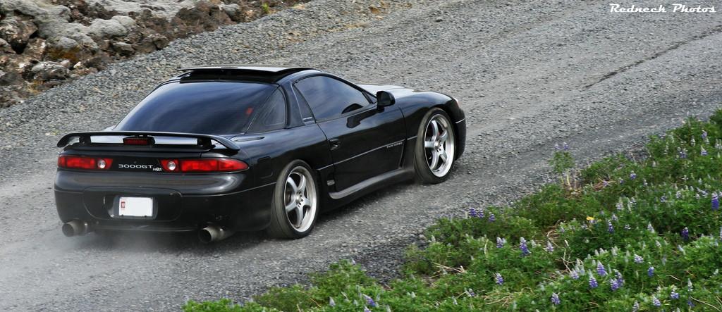 Mitsubishi 3000GT (GTO), japoński sportowy samochód, twin turbo, awd, v6, znany, po tuningu, fotki