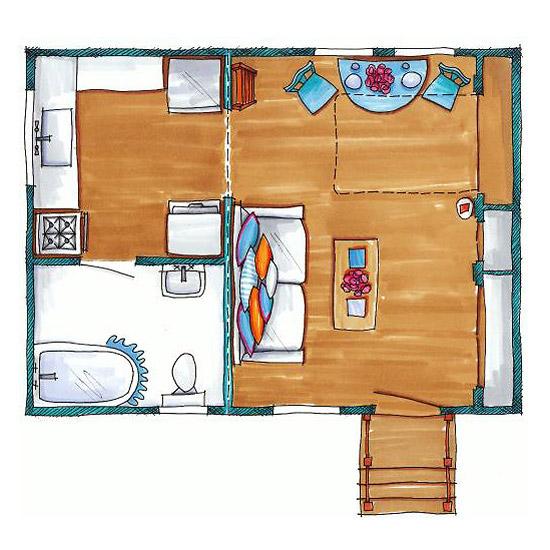 Mania de decorar casa pequena - Casas super pequenas ...