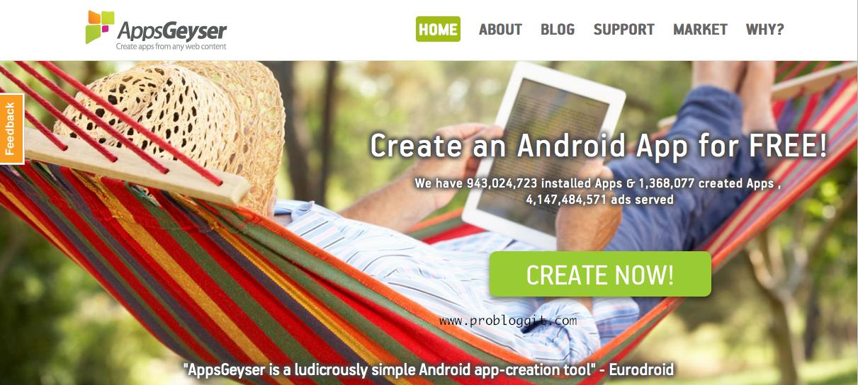Cara Membuat Aplikasi Blog Sendiri Untuk Android Dengan Mudah