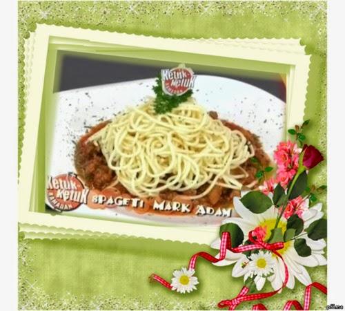 Ketuk-ketuk Ramadan 2014 bersama Mark Adam - Spaghetti Mark Adam, Sambal Hijau Mentarang Petai