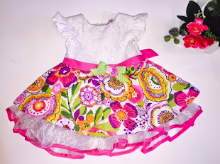 SMOOTHIES KIDS DRESS 6M-3Y