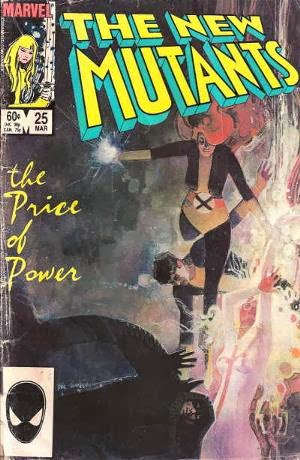 New Mutants #25 comic image