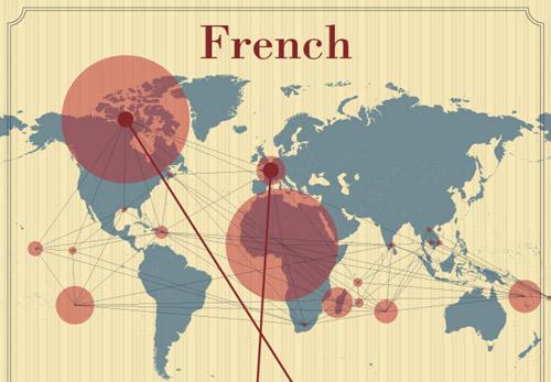 Onde é que se fala francês?
