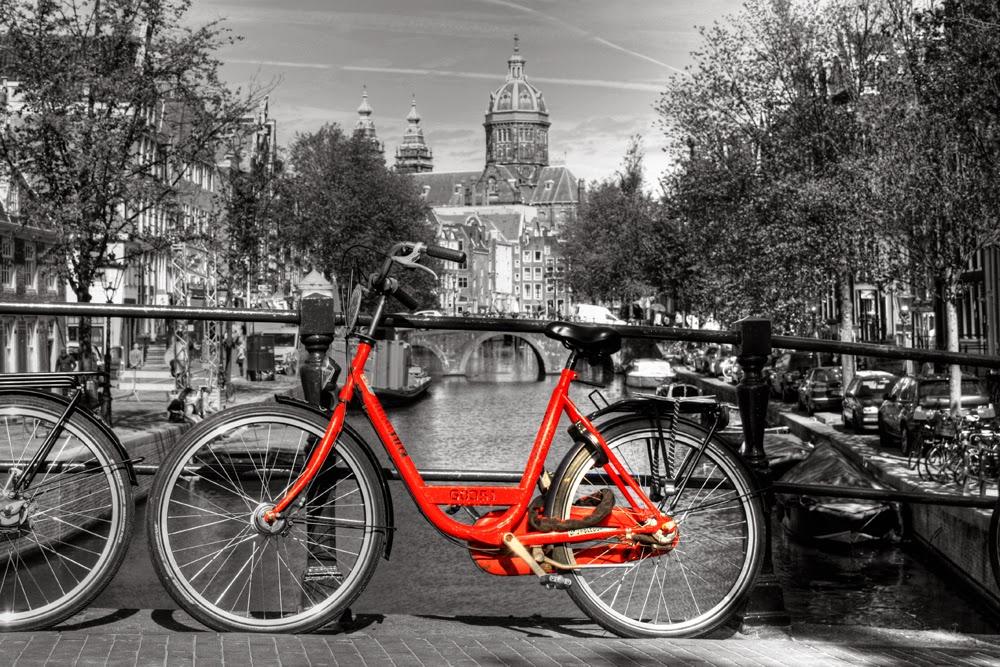 Biciclete de oras din Amsterdam