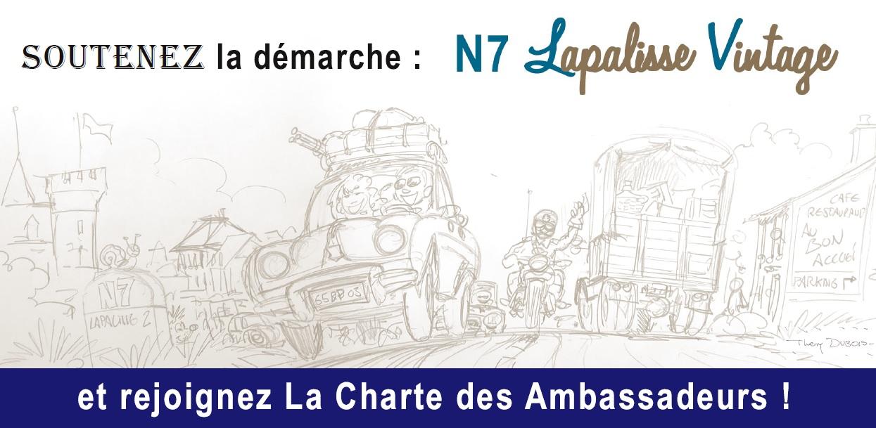 En 2017, devenez Ambassadeur N7 Lapalisse Vintage !
