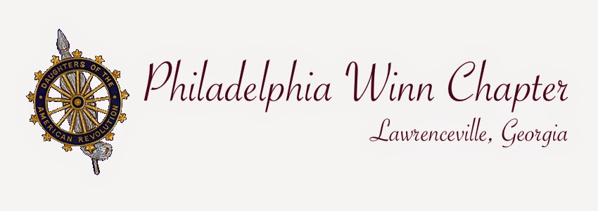 Philadelphia Winn Chapter NSDAR