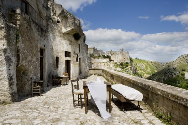 Italian ancient stone house