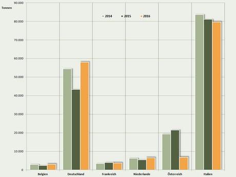 Cultivo de maçã e pêra orgânica na Europa em 2016 não sofre queda