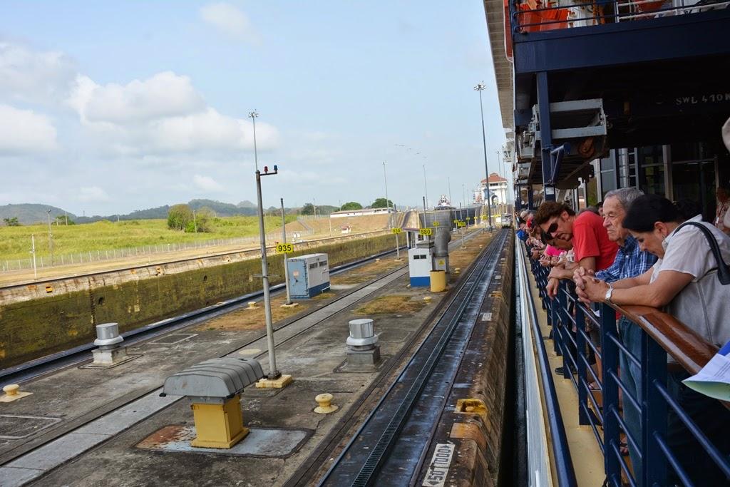 Panama Canal Miraflores Locks cruise