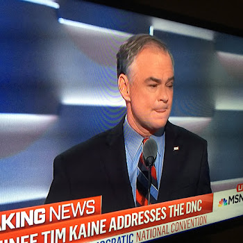 Senator Tim Kaine Accepts VP Nomination