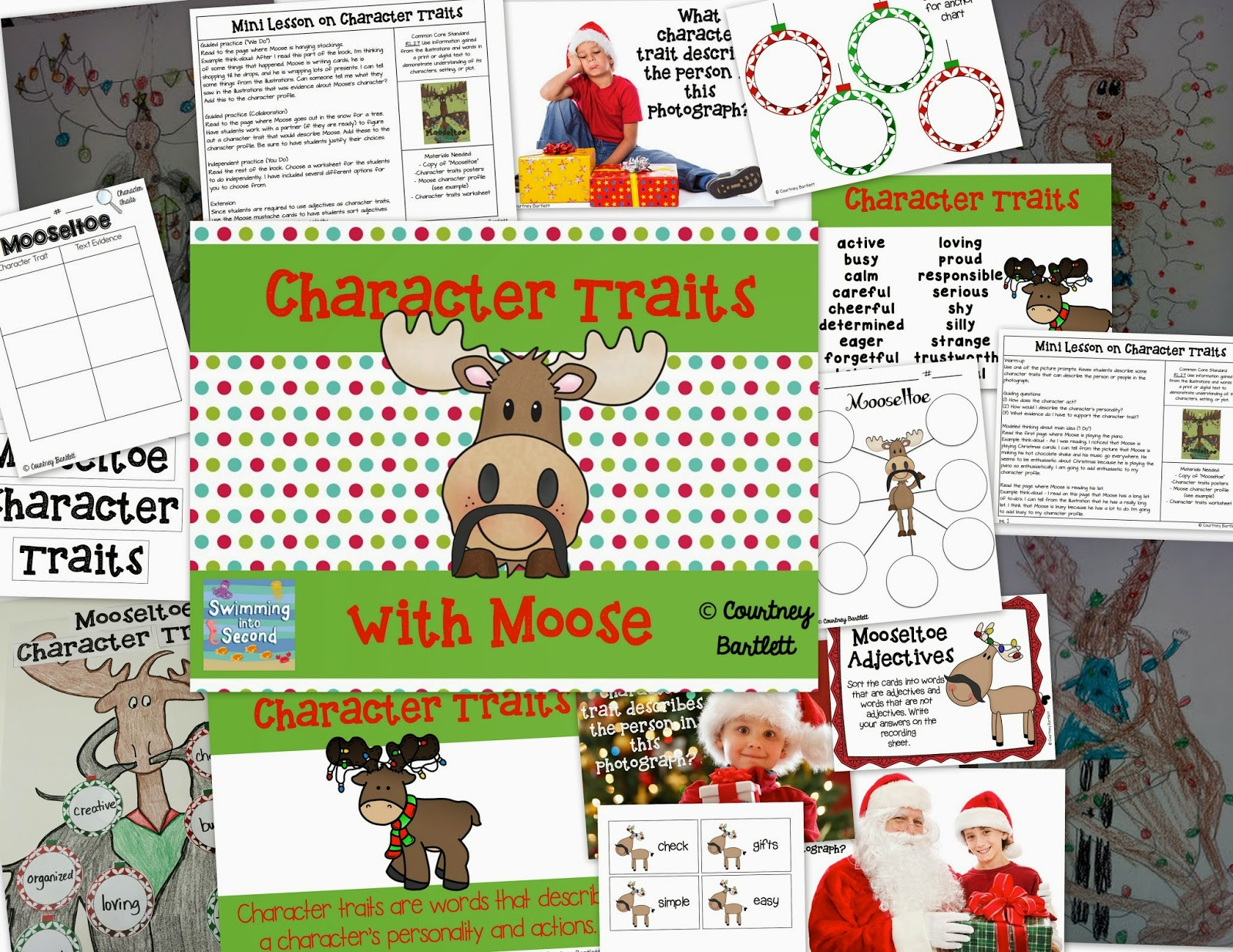 http://www.teacherspayteachers.com/Product/Character-Traits-minilesson-with-Mooseltoe-1587176