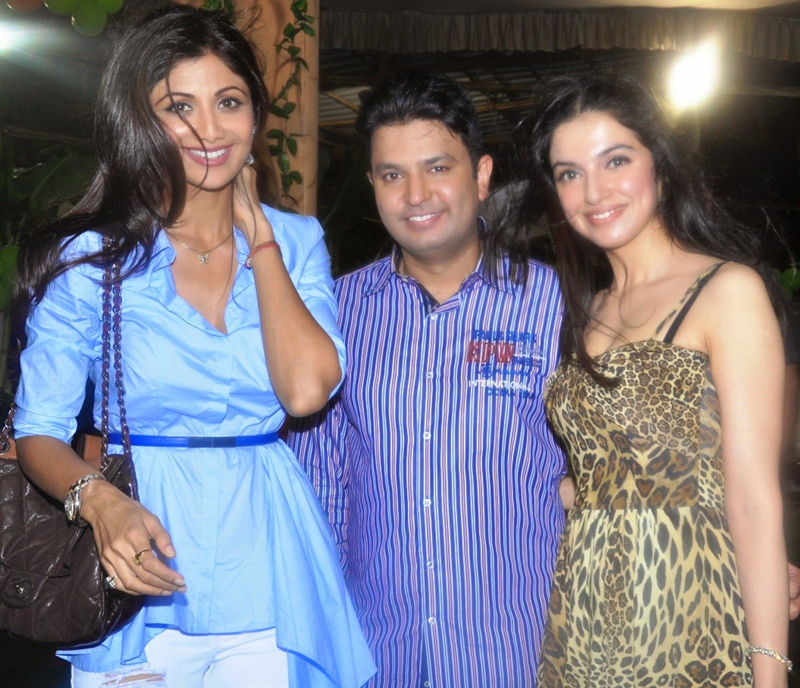 Shilpa Shetty at Ruhaan Kumar Birthday Party Pics