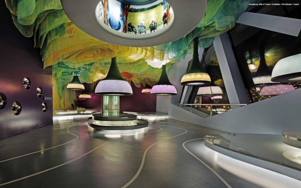 Imagine These Exhibition Interior Design German