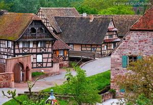 Tempat wisata terkenal di Perancis Ungersheim alsace perancis