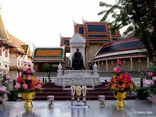 Rey Chulalongkorn (Rama V) Wat Ratchabophit.