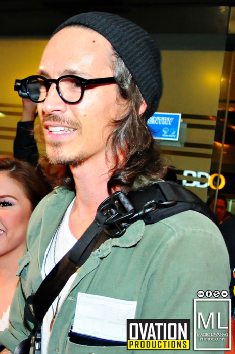 Brandon Boyd, Incubus LIVE in Manila SMART-Araneta Coliseum UPDATE: The Arrival