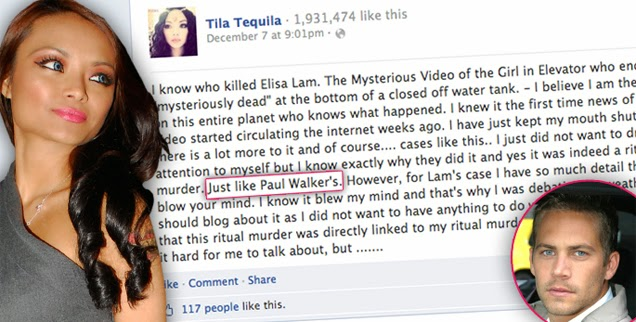 Tila Tequila Exposes The Illuminati