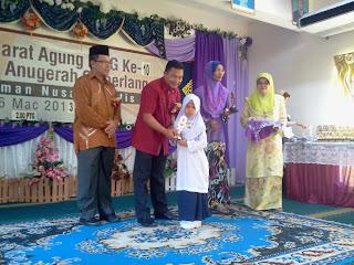 Mesyuarat Agung PIBG dan Anugerah Kecemerlangan SK Taman Nusa Perintis