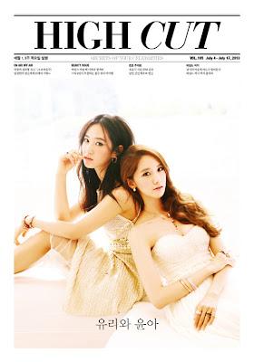 Yoona Yuri SNSD Girls' Generation High Cut Magazine Vol. 105