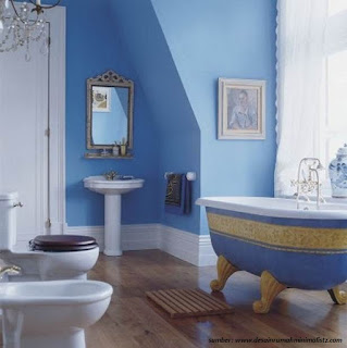 Minimalist Bathroom Paint Blue For Your Home