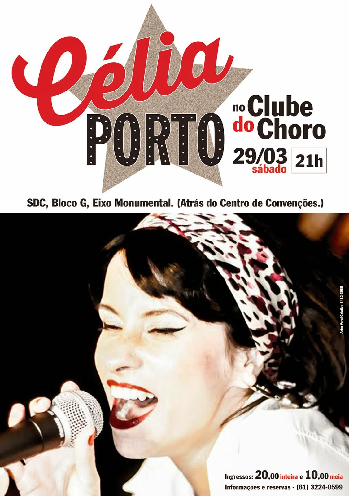 CÉLIA PORTO NO CLUBE DO CHORO