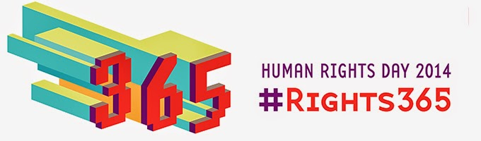 Human Rights Day 2014 #Rights365
