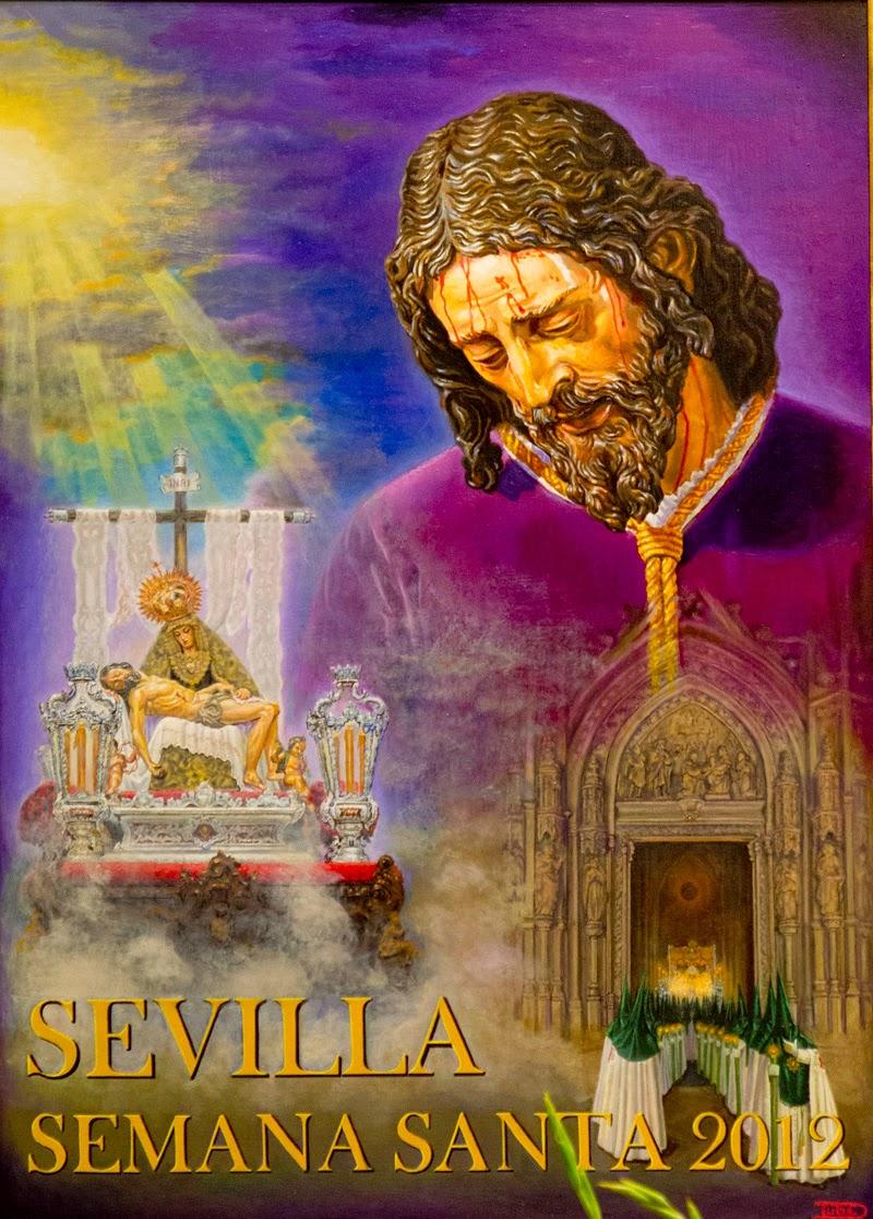 Cartel Semana Santa de Sevilla 2012