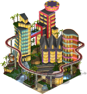 mun majestic hotel SW PKDX - Material CityVille: Cidade de Noite Ato 1