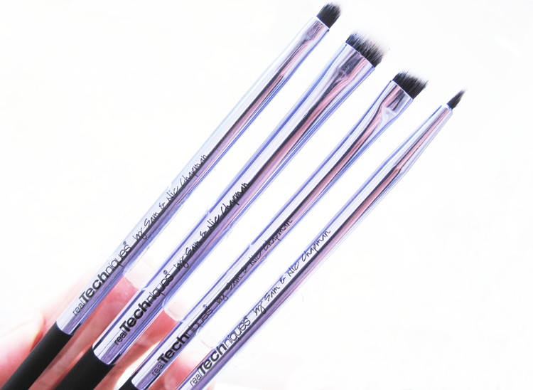 Real Techniques Collector's Edition Eyelining Brush Set review