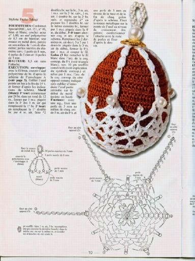 Как связать яичко