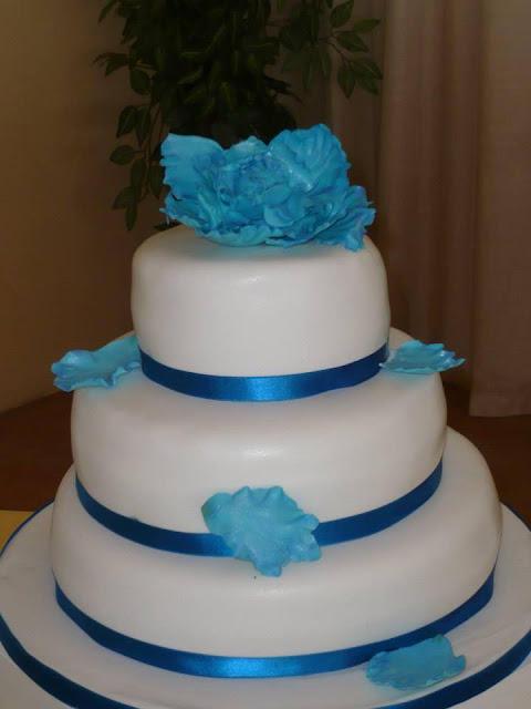 tarta fondant Flores de azucar peonia cerrada pasta de goma boda elegante  sugar dreams gandia tarta fondant