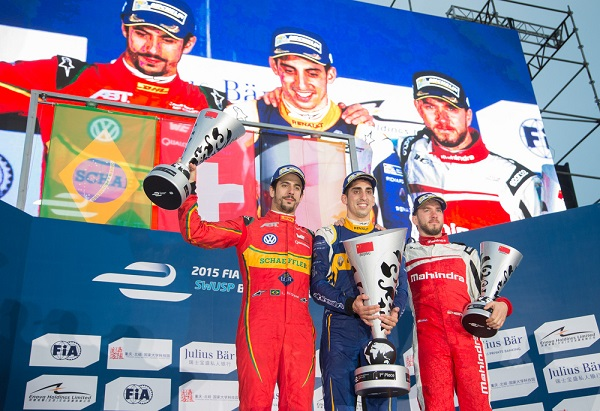 Fórmula E: Sebatian Buemi se quedo con el ePrix de Pekín