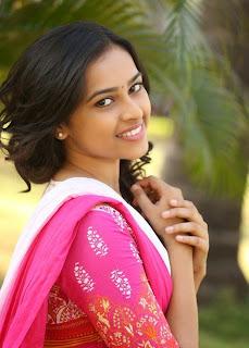 Sri Divya Ultimate Cuteness at Varadhi Movie Trailer Launch in  Pink Salwar Kurta