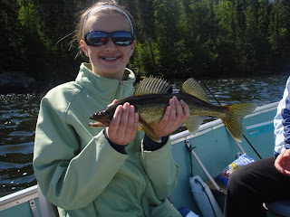 Rainbow Point Lodge walleye fishing