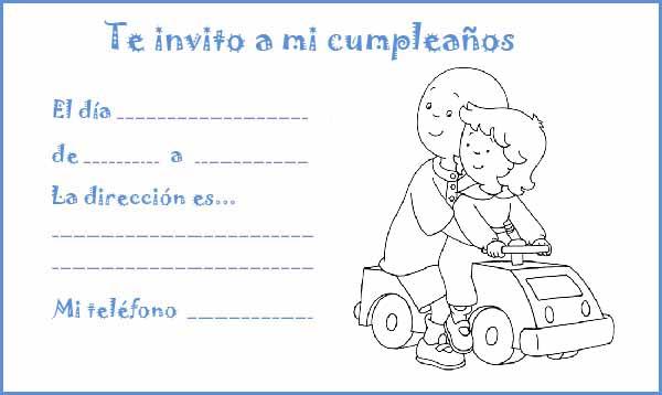 Manualidades con mis hijas: Colorear invitaciones de cumpleaños