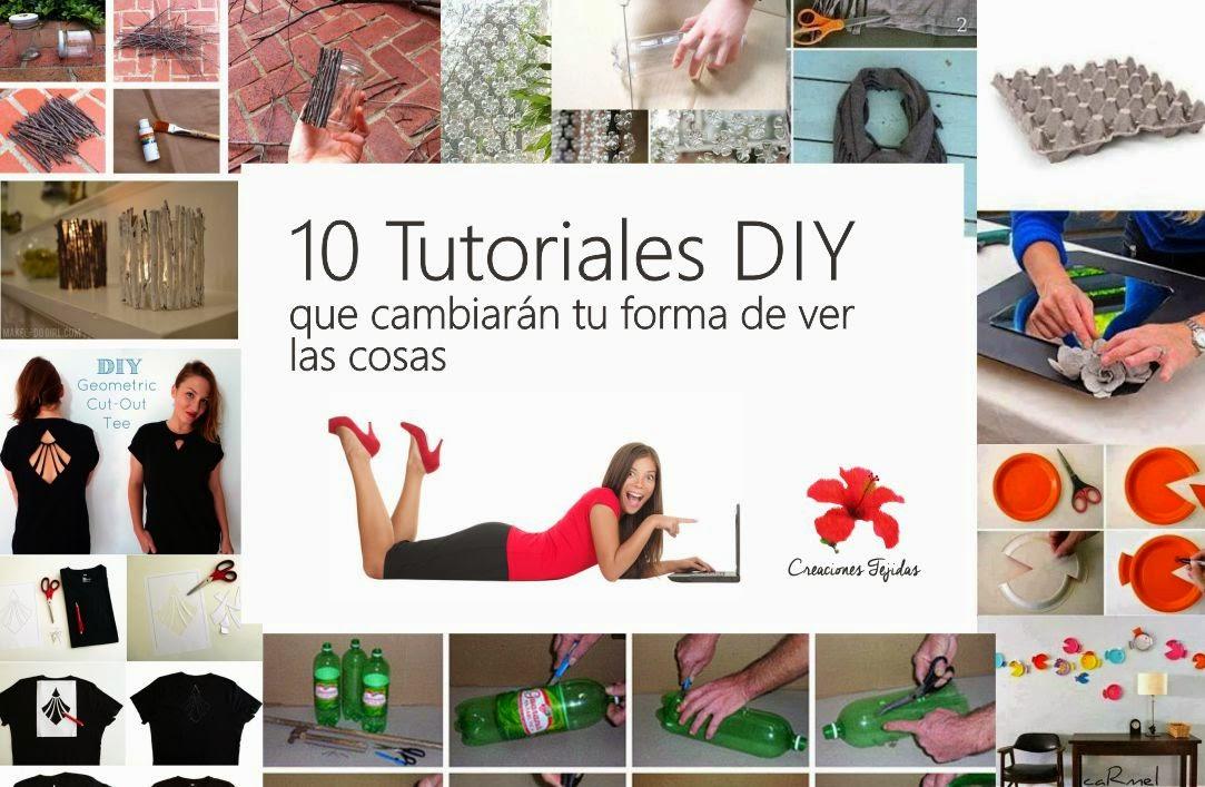 10 Tutoriales DIY que cambiarán tu forma de ver las cosas