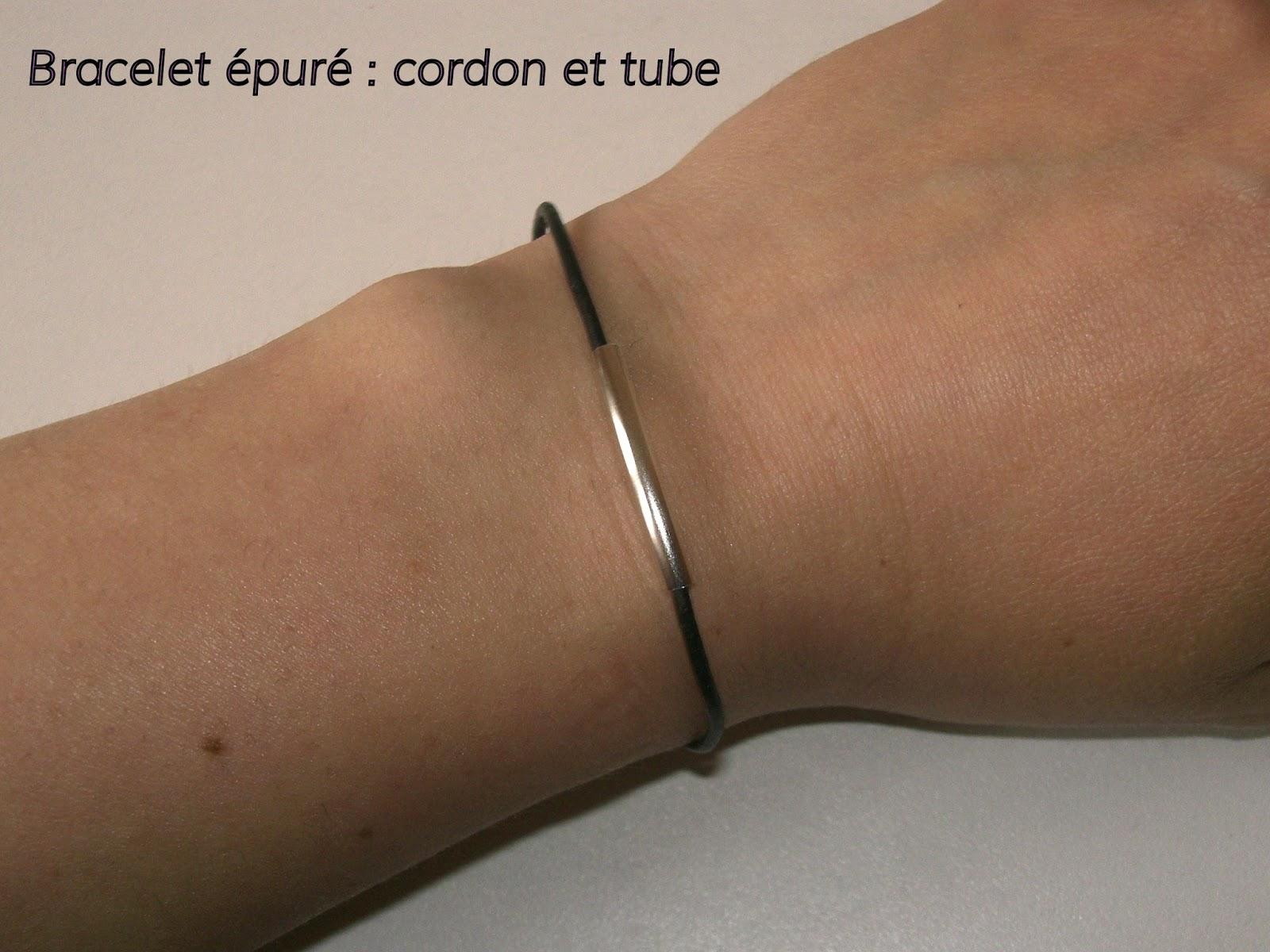 gabulle in wonderland bracelet pur cordon et tube. Black Bedroom Furniture Sets. Home Design Ideas
