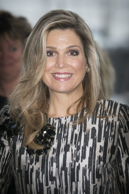 Queen Maxima of The Netherlands attends the award ceremony of the Prins Bernhard Cultuurfonds Prize to architect Francine Houben