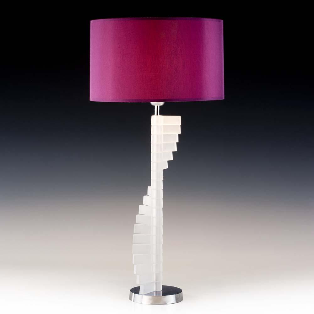 tischleuchten aus glas und kristall designer tischleuchte aus glas shamen. Black Bedroom Furniture Sets. Home Design Ideas
