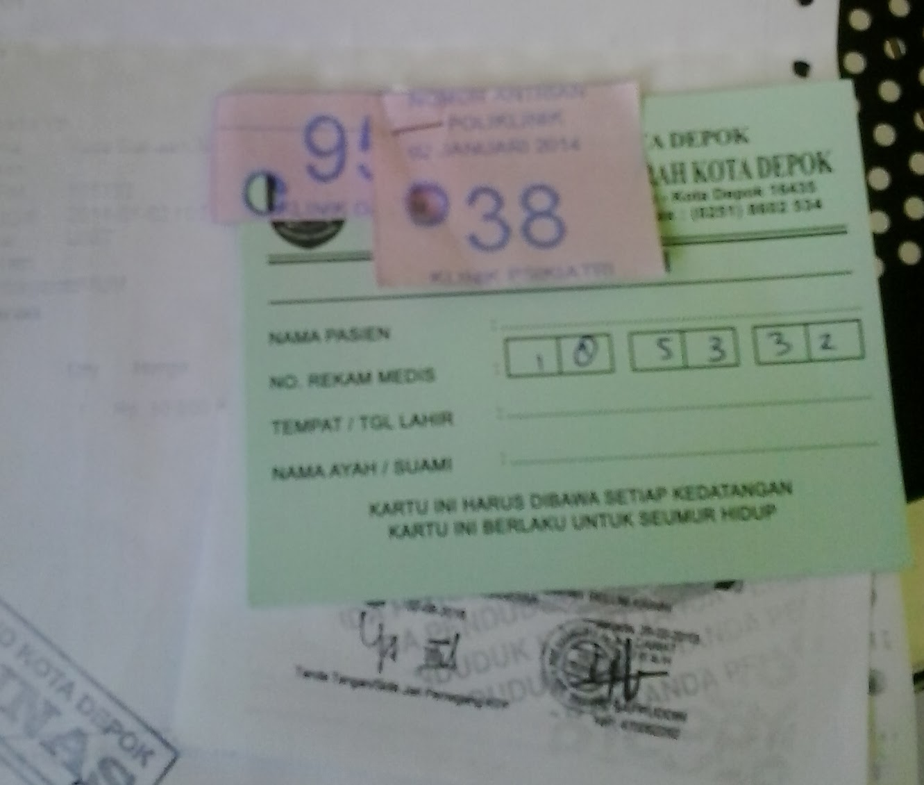 Suwida: Membuat Surat Keterangan Berbadan Sehat (SKBS) dan