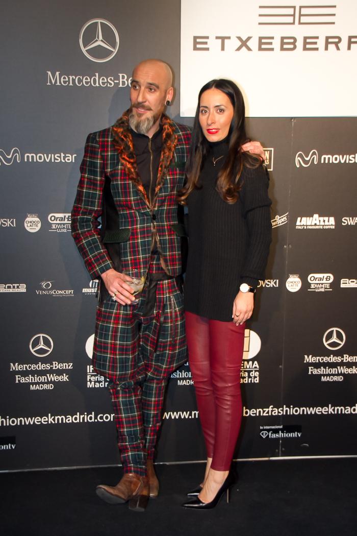 Blogger de moda valenciana acreditada en la Fashion Week de Madrid asiste a los desfiles