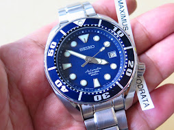 SEIKO DIVER SUMO BLUE DIAL - SEIKO SBDC003 - AUTOMATIC 6R15 - MINTS CONDITION