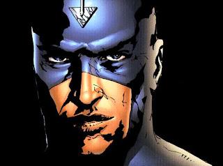 Ilustração de Raio Negro feita por Jae Lee para a saga Inumanos