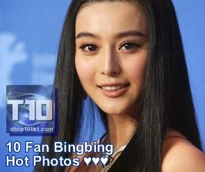 Top 10 Fan Bingbing 范冰冰 Hot Photos