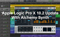 Logic Pro X 10.2 update with Alchemy synth image